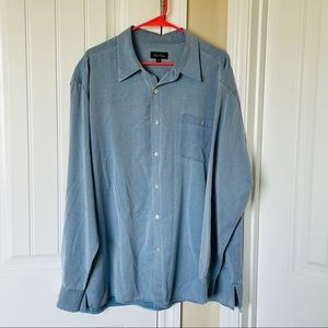 True Grit - weathered tencel chambray button down